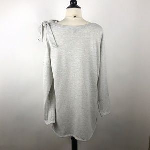 Lane Bryant Tops - Lane Bryant Gray Cold Shoulder Sweatshirt